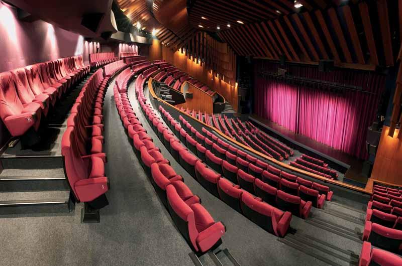 Théâtre Claude Debussy - Photo Perreard 2006