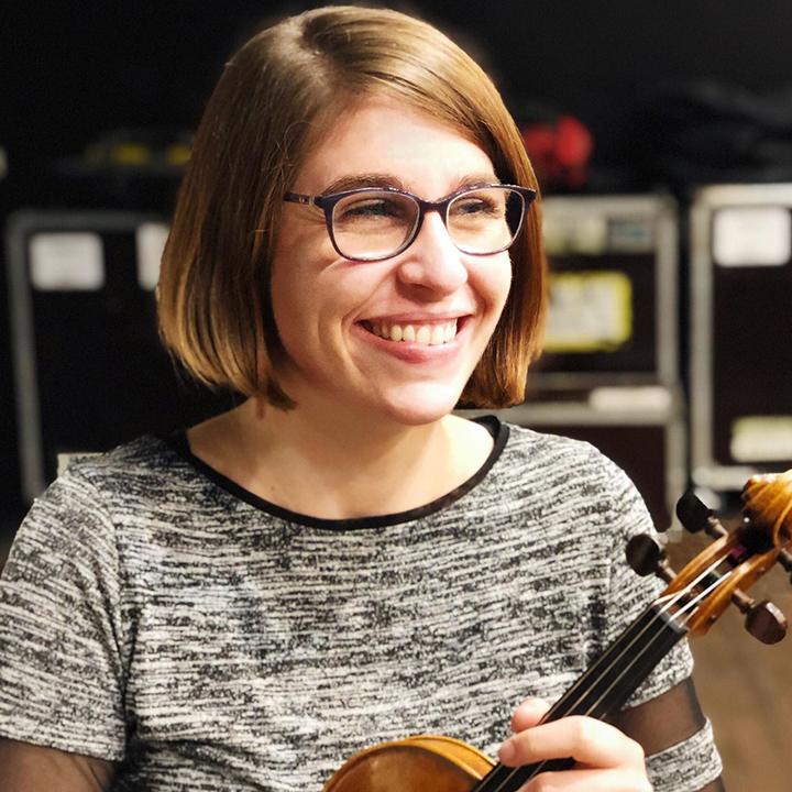 Bienvenue à Mélanie Marillier, violoniste !